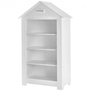 Grande bibliothèque blanche Cabine de Plage pour chambre de bébé