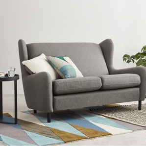 Rubens, canapé 2 places, gris nickel