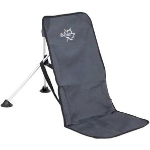 Bo-Trail Chaise de camping Aluminium Anthracite 1204600