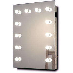 Miroir De Maquillage Hollywood Lampes Led Graduables Blanches Froides K90Cw - Couleur LED : Ampoules LED blanches froides - DIAMOND X COLLECTION