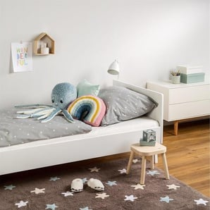 Tapis lavables pour enfants Bambini Stars Bleu 120x180 cm - Tapis lavable pour chambre denfants/bébé