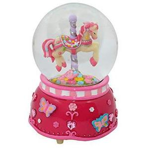 Art DÉCO Home Boule Musical Fuchsia Pony Jour: 8cm