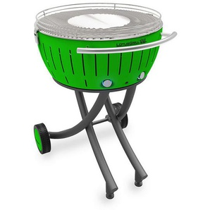 barbecue à charbon portable 60cm vert - lg-gr-600 - lotusgrill - LOTUS GRILL