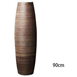 TD Arrangement de Fleurs Grand Vase Salon Décoration Européenne Minimaliste Décoration Sol Vase en Céramique (Taille : 3)