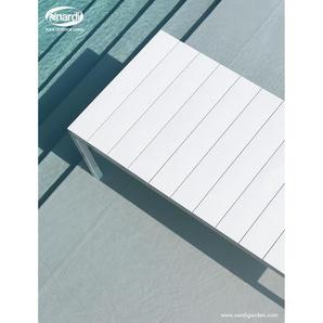 Nardi Table extensible Rio - blanc - Longeur 210 / 280 cm