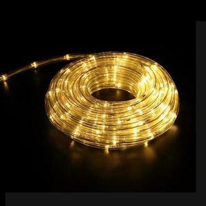 Guirlande LED 220V 20m IP44 - Blanc Chaud - SILAMP