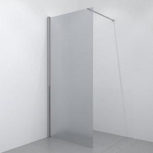 Saniclass Glas Douche à litalienne 90x200cm vitre 10mm satinée chrome 4909
