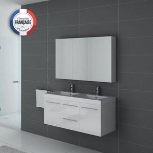 Meuble de salle de bain PALERME Blanc - DISTRIBAIN