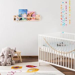 Tapis enfant Fantasia Orange 160x230 cm - Tapis pour chambre denfants/bébé