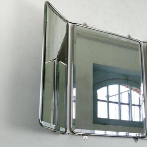 Miroir industriel à rabats