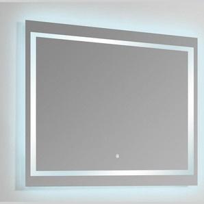 Miroir Rectangle lumineux salle de bain - Rétro-éclairage LED - 120x80 cm - Connect 120 - RUE DU BAIN