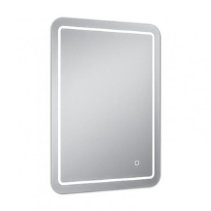 Miroir de salle de bains avec éclairage LED - 70 cm x 50 cm (HxL) - PRADEL