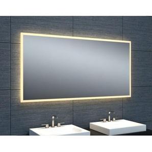 Miroir de salle de bains avec éclairage LED - Modèle épuré 120 - 60 cm x 120 cm (HxL) - PRADEL