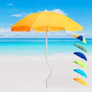Parasol de plage 180 cm coton pêche GiraFacile DIONISO | Orange
