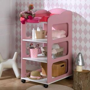 Chambrekids - SOFAMO Table à langer Soho rose confetti