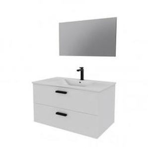 Ensemble design de salle de bain Blanc - HOME BAIN