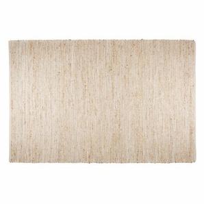 Tapis en coton et jute beige 200x300cm BARCELONE