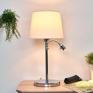 Lampe à poser Lavo avec liseuse LED