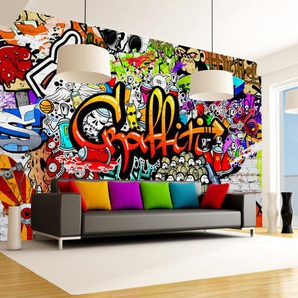 Papier peint - Colorful Graffiti