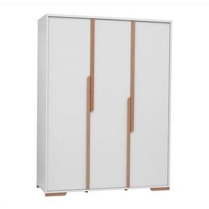 Armoire triple Snap 150cm largeur - Blanc
