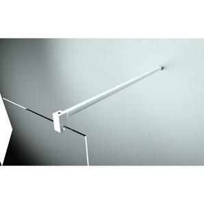 Barre de renfort 150 cm pour verre 6 et 8 mm - Finition profilé : SILVER - NOVELLINI
