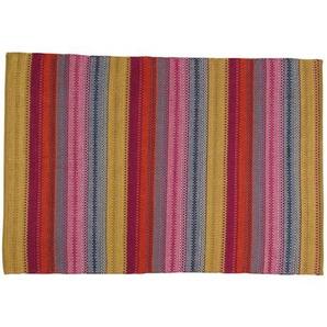 Tapis tressé en coton multicolore 230 x 160 cm KIGALI