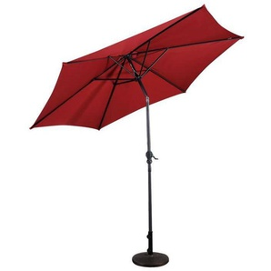 Parasol inclinable diamètre 2,7m en acier patio - COSTWAY