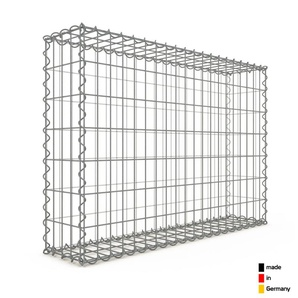 Gabion 100x70x20cm « made in Germany » - mailles rectangulaires 5x10cm - GABIONDECO
