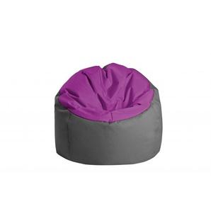 Jumbo bag Pouf Bowly Aubergine / Anthracite