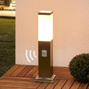luminaire pour socle en inox Lorian avec détecteur