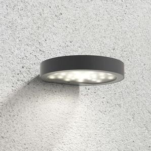 Applique dextérieur solaire LED Linja, gris foncé
