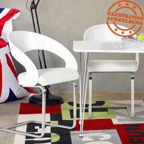 Chaise moderne LOLA pour salle à manger blanche
