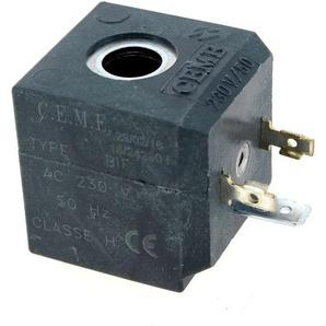 Bobine electrovanne 230v/6 watts pour Centrale vapeur Moulinex, Centrale vapeur Philips, Centrale vapeur Astoria, Nettoyeur vapeur Astoria, Centrale v - POLTI
