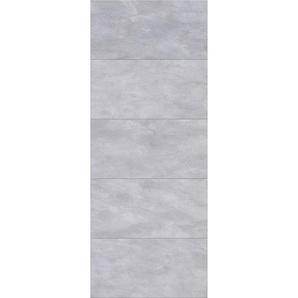 Lot de 2 panneaux muraux 100 x 210 cm, revêtement pour douche et salle de bains, DécoDesign DÉCOR, Schulte, Castello gris