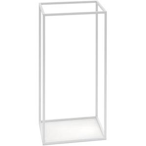 Schönbuch Portemanteau rectangulaire Rack - blanc/revêtu par poudre/lxHxP 60x170x38cm