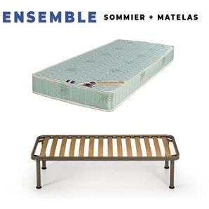 Matelas 90x200 + Sommier D - KING OF DREAMS