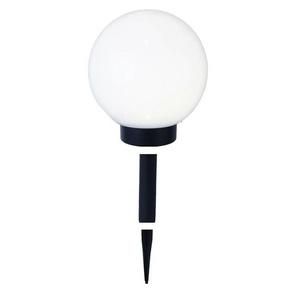 GLOBE LIGHT-Boule lumineuse dextérieur Solaire LED à piquer ou poser Ø20cm Blanc Best Season