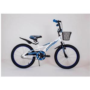 Vélo enfant BMX | Blanc et Bleu - ARTPOL