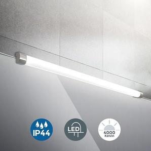 Applique murale LED salle de bain chrome 10W éclairage salle deau IP44 luminaire maquillage - B.K.LICHT