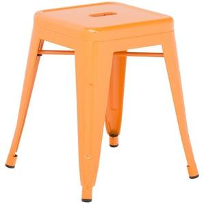 SKLUM - Tabouret LIX Orange Safran Acier