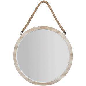 Miroir rond en bois D44,5cm