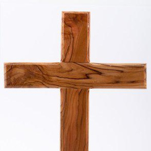 Wooden Cross. Plain wood cross. Holy Land wood cross.Olive Wood Cross. by Wood Cross
