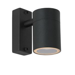 ARNE LED-Applique dextérieur Métal H11,5cm Noir Lucide