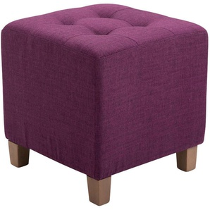 Tabouret pouf Pharao violet - TIMWOOD EXPERIENCE