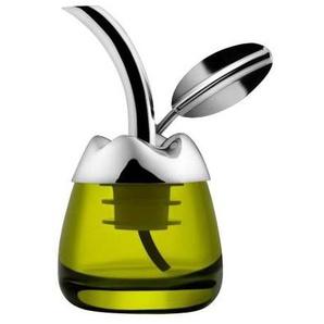 Alessi Fior d'Olio - Dégustateur d'huile d'olive - inox/brillant, poli/avec résine thermoplastique