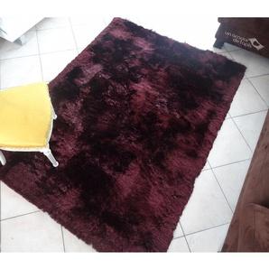 UN AMOUR DE TAPIS SHAGGY FIN 160x230 cm Tapis Moderne Tapis Salon Tapis Rectangulaire Tapis Violet - UNAMOURDETAPIS