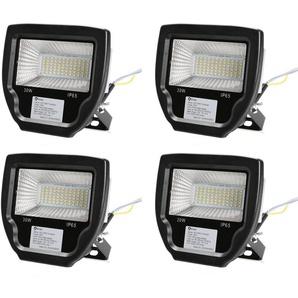 4×Anten 30W Projecteur LED Éclairage Extérieur et Intérieur IP65 Spot LED Blanc Neutre 4000-4500K