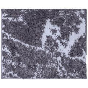 RIDDER Tapis de salle de bain Marmor Gris-blanc 55 x 50 cm