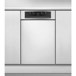 Lave vaisselle intégrable largeur 45 cm WHIRLPOOL WSBC3M17X