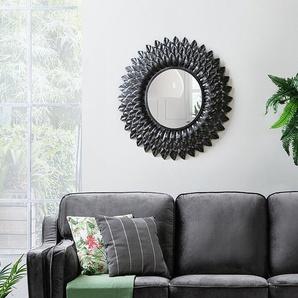 Miroir mural argenté LARRAU